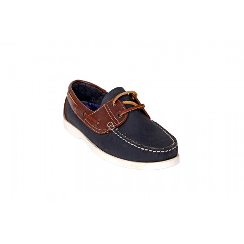 Castillo Genuine Leather Junipar Blue Shoes