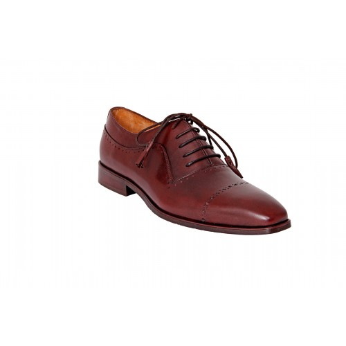 Castillo Genuine Leather RH Odyssey Maroon Shoes