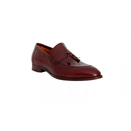 Castillo Genuine Leather RH Salasta Maroon Shoes