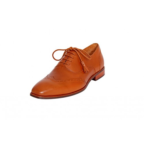 Castillo Genuine Leather RH Salami Tan Shoes