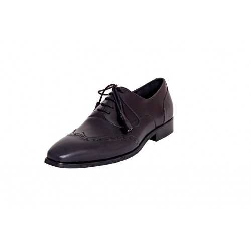 Castillo Genuine Leather RH Salami Black Shoes