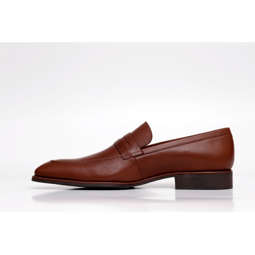 Castillo Genuine Leather Seta Tan Shoes