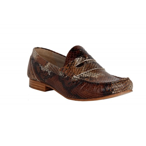 Castillo Genuine Leather Weyn Dark Brown Shoe