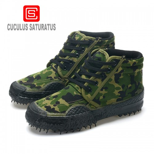 Cuculus Arrive Men Fashion High Top Military Desert Boots Male outdoor hiking boots Ankle