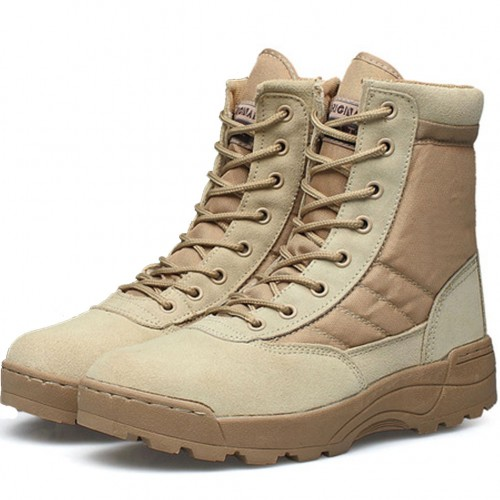 Desert Tactical Military Boots Combat Boots Men Shoes Work SWAT Army Boot Militares