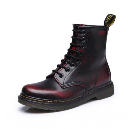 Dr Genuine Leather shoes men Boots Martin Motorcycle Autumn Winter shoes Lover