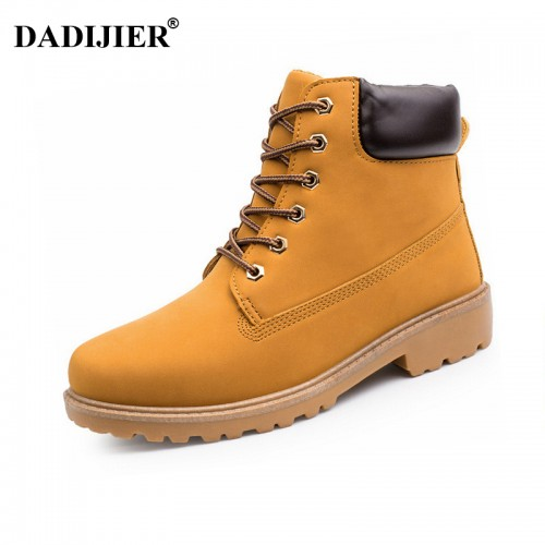 Men boots Fashion Martin Boots Snow Boots cheap timber boots Lover Autumn Winter
