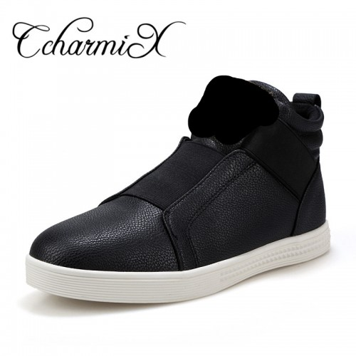 Men s Fashion Boots Shoes Animal Casual Shoes For Man Design Ankle Boots