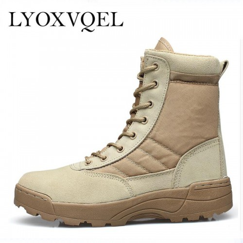 New America Sport Army Men s Tactical Boots Desert Outdoor Hiking Boots Military