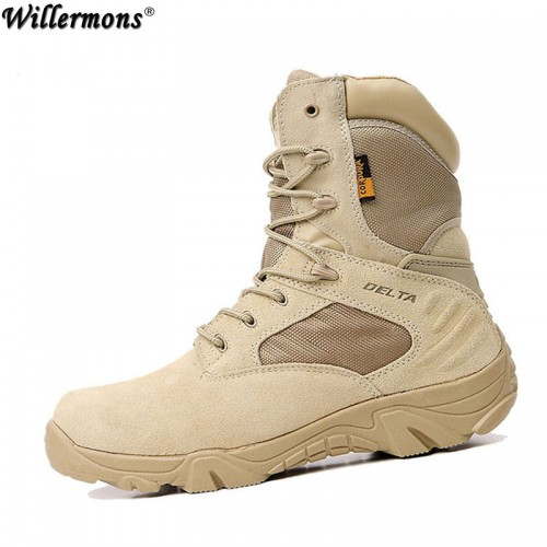 Summer Men s Desert Camouflage Military Tactical Boots Men Combat Army Boots Militares
