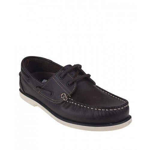 Castillo Genuine Leather Junipar Dark Brown Shoes