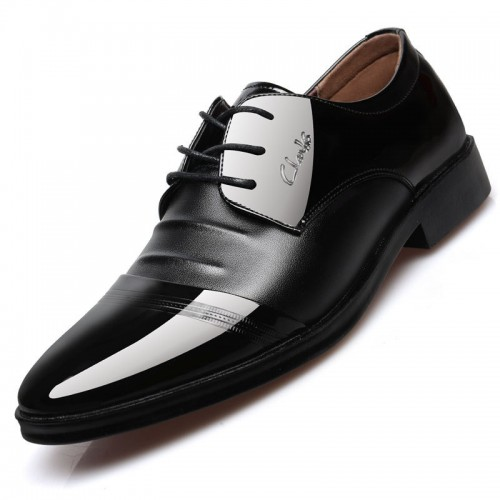 Fashion Men Shoes Genuine Leather Men Dress Shoes Brand Luxury Men s Business Casual Classic