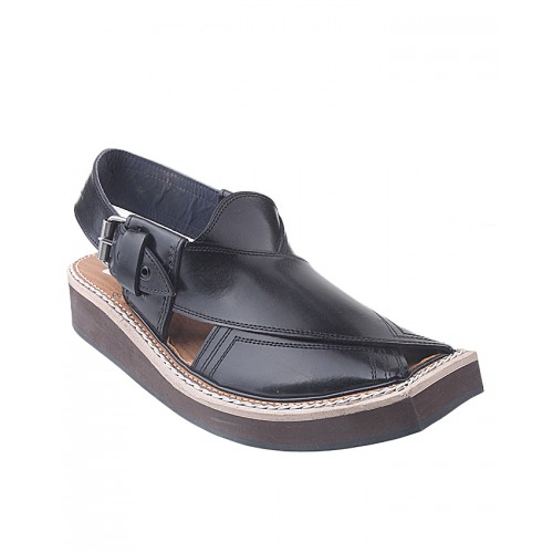 Castillo Genuine Leather Kaptan Chapple - Black Shoes