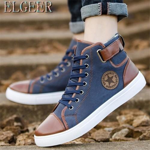 ELGEER New men s high street dance explosion models move shoes casual men s Korean classic