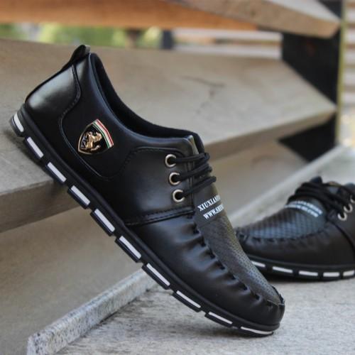 GOXPACER autumn men shoes Moccasins men casual shoes british style popular men flats fashion small