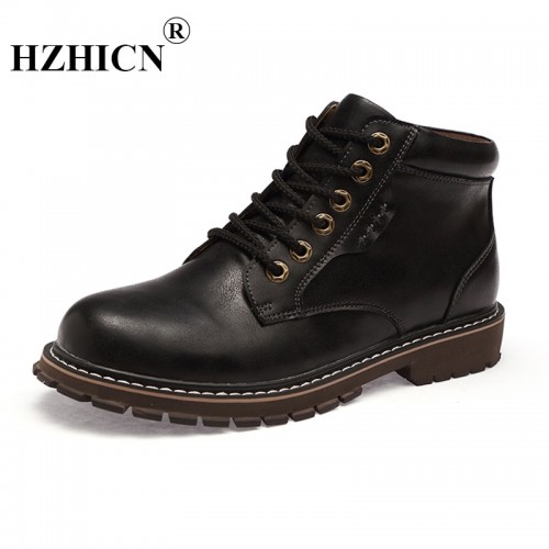 Men s two layer leather retro Korean version of the trend of the wind wind tool