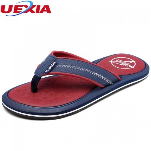 Breathable Hollow Men Summer Men Shoes Patchwork Male Sandalias Beach Shoes Casual Summer Slipper