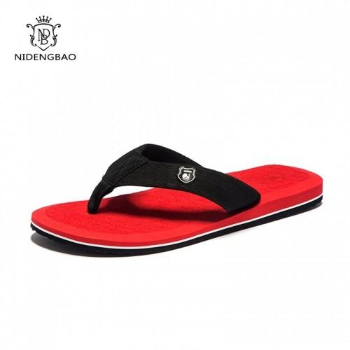 NEEDBO Beach Flip Flops Men Slippers Shoes Comfortable Men s Sandals Casual Summer Shoes Good