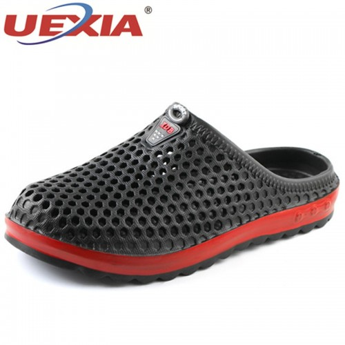New Men Slippers Summer Slides Breathable Man Shoes Fashion Flats Sandals Male Flip Flops