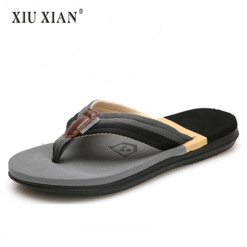 Summer New Arrived Fashion Lovers Travel Beach Slippers Thick Sole Non Slip Comfort Men Flip