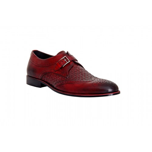 Castillo Genuine Leather RH Pez Burgy Shoes