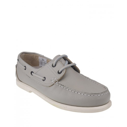 Castillo Genuine Leather Junipar White Shoes