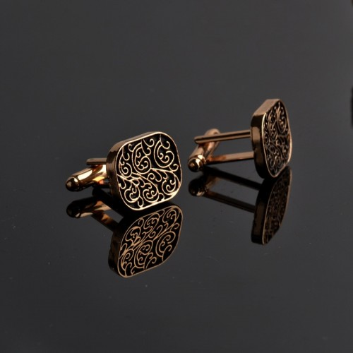 The high end men s shirts Cufflinks collocation accessoriesgifts classic Mens Fashion Design carving high quality