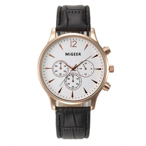 Top Brand Watches Men Relojes Mujer Luxury Business Wrist Watch Women Leather Quartz Sport Watch
