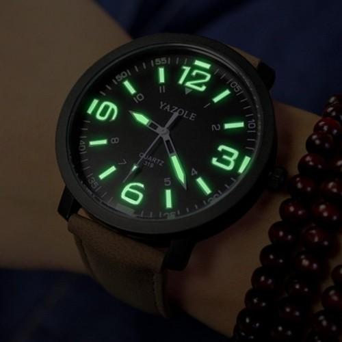 YAZOLE Luminous Wrist Watch Men Watch Waterproof Sport Watches Men s Watch Clock erkek kol saati