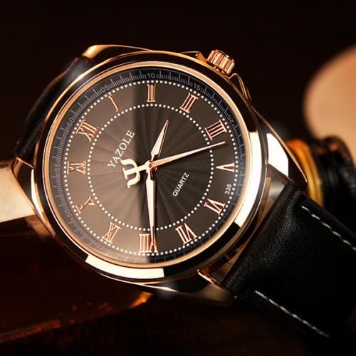 YAZOLE Quartz Watch Men Top Brand Luxury Famous Wristwatch Male Clock Wrist Watch Business Quartz