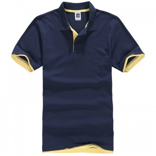 2016 New Fashion Camisetas Short Sleeve Polo Masculinas Turn Down Collar Summer Casual Men s Polo