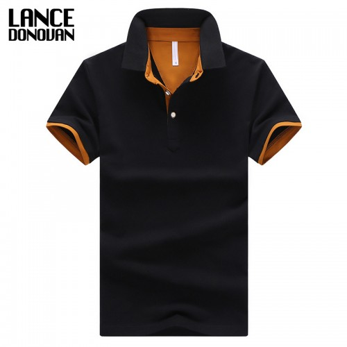 2016 Summer Short Sleeve Polo Shirt Men M 4XL ASIAN SIZE 11 Solid color Choose