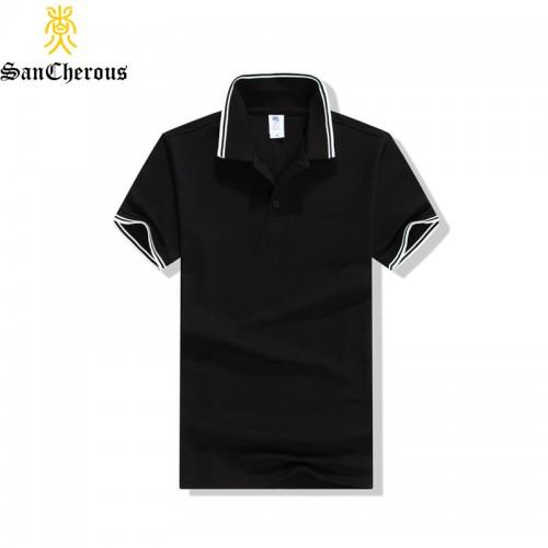 2017 High Quality 14 Colors Cotton Turn Down Collar Summer Men Polo Shirt Fashion Casual Polo
