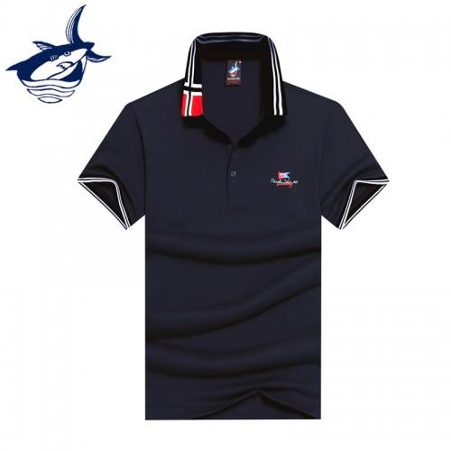 2017 New arrival fashion men polo shirt brand Tace Shark polo men camisa masculina cotton breathable