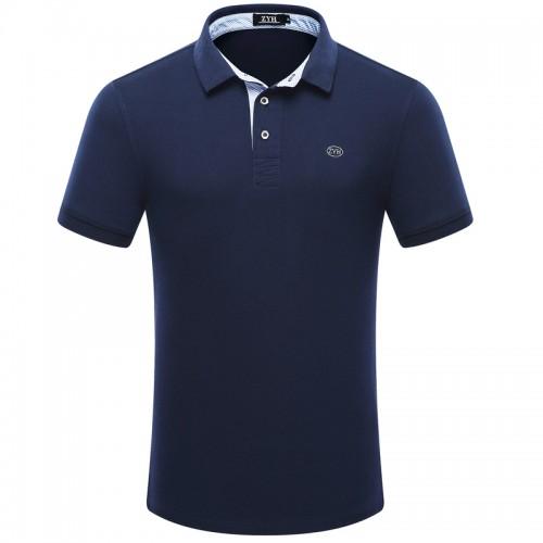 2017 high quality men polo shirt Summer short sleeved cotton men s polo fashion business Casual