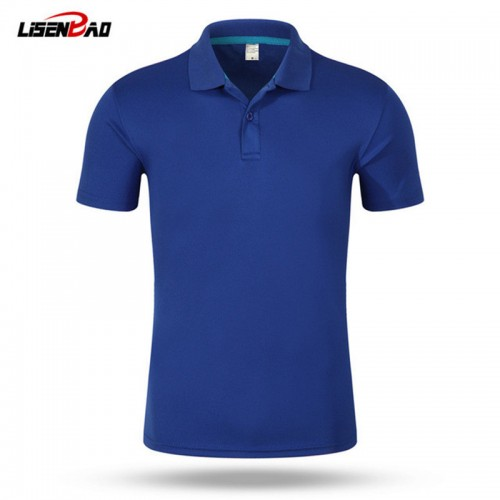 2017 top Men Polo Shirt Men s Business Casual solid polo Summer Style Polos Short Sleeve