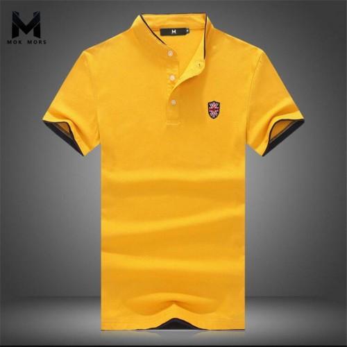 2017New Summer Men Collar Polo Shirt Men Clothing Solid Mens Polo Shirts Business Casual Polo shirt