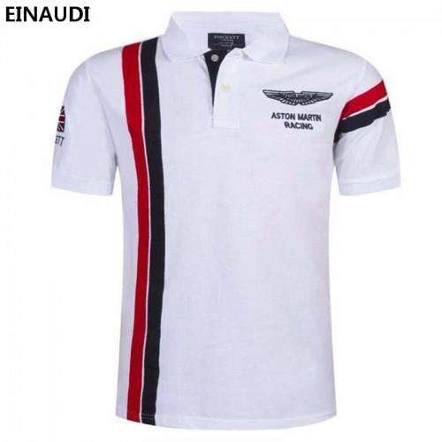 EINAUDI New Summer Men s Short Sleeve Embroidery Polo Shirt Men s Fashion Breathable Polo Shirt