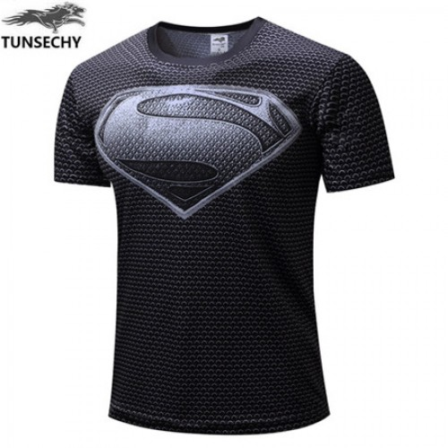 Motion Printed Half Sleeves Quick Dry T Shirt (6)