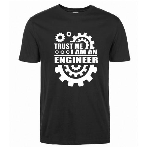 Summer 2017 Cotton Men T shirts harajuku I AM AN ENGINEER T Shirts O Neck tops