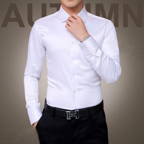 Plus Size 5XL 2017 New Men s Luxury Shirts Wedding Party Dress Long Sleeve Shirt Silk