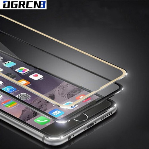 3D Curved Edge Titanium Protective Film for iPhone 6 6S 7 plus Tempered Glass for iPhone