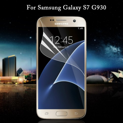 For Samsung Galaxy S7 G930 Soft Screen Protective Film Full Coverage for Galaxy S 7 Soft