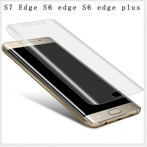 S7 Edge 3D Curved Cambered Full Coverage Soft PET Film Screen Protector For Samsung Galaxy S7