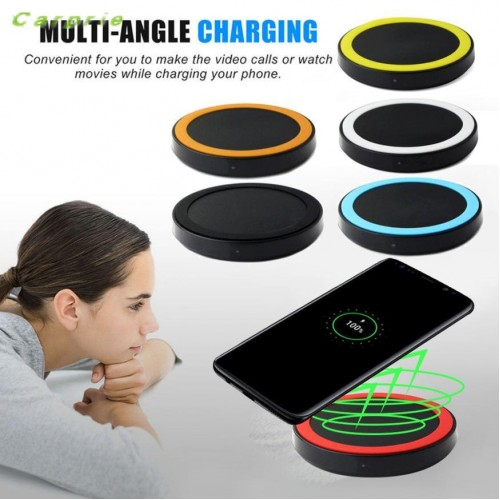 CARPRIE Best choice quick charge Qi Wireless Power Charger Charging Pad For Samsung Galaxy S8 S8