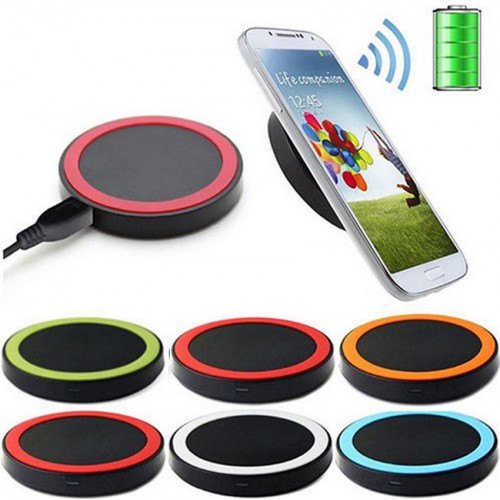 New Universal 5V 1A Fast Qi Wireless Charger Charging Transmitter Power Adapter Pad For Samsung Galaxy