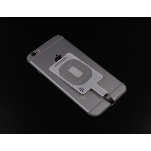 Qi Wireless Charging Sticker Receiver With NFC IC Chip For Apple iPhone 5 5S 5SE 6
