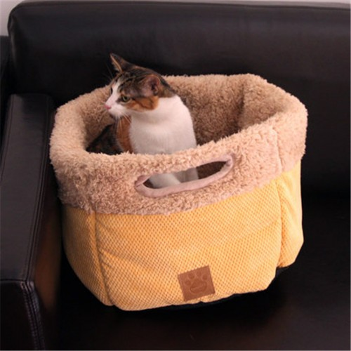 Creative Portable Warm Cat Cage House Mobile Pet Kennel out bag Mini cat