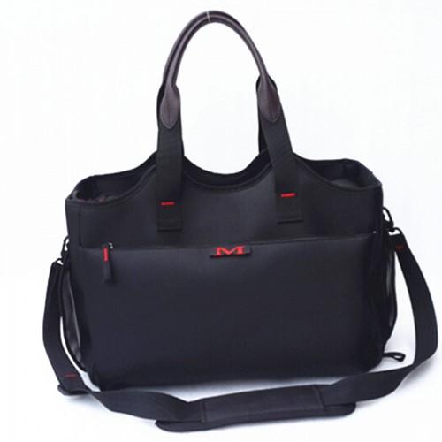 Designer Pet Bag Carrier For Small Cat Small Animals Black Nylon Bag