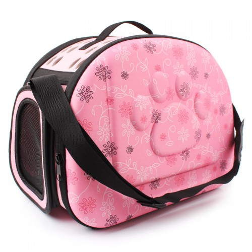 Folding Carrier Bags Pet Travel Carrier Shoulder Small Cats Bag Fashion Portable Breathable